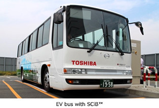 EV Bus with SCiB™